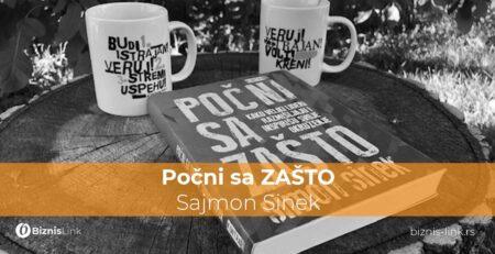 Počni sa ZAŠTO, Sajmon SINEK | Biznis link