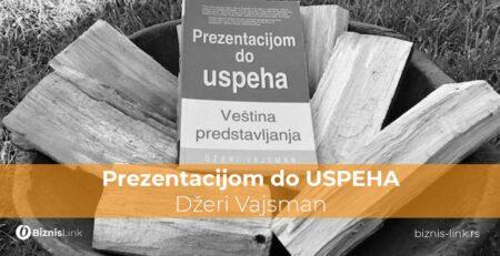 Prezentacijom do USPEHA, Džeri Vajsman
