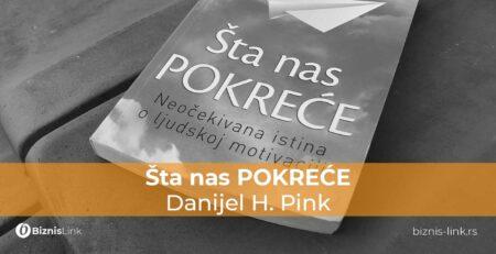 Šta nas POKREĆE, Danijel H. Pink - Book club | Biznis Link