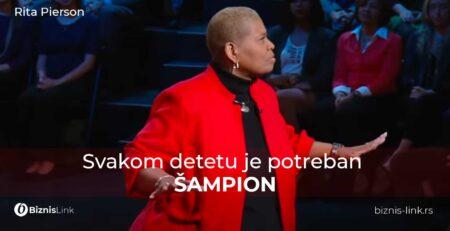 Rita Pierson - Svakom detetu je potreban šampion | Biznis Link